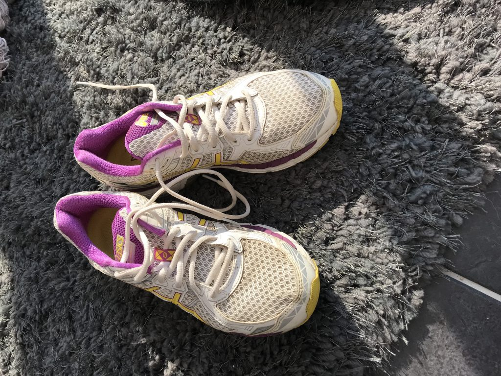 Image of my running shoes