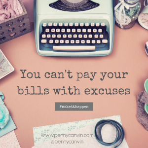 image of evaluate your life don't use excuses